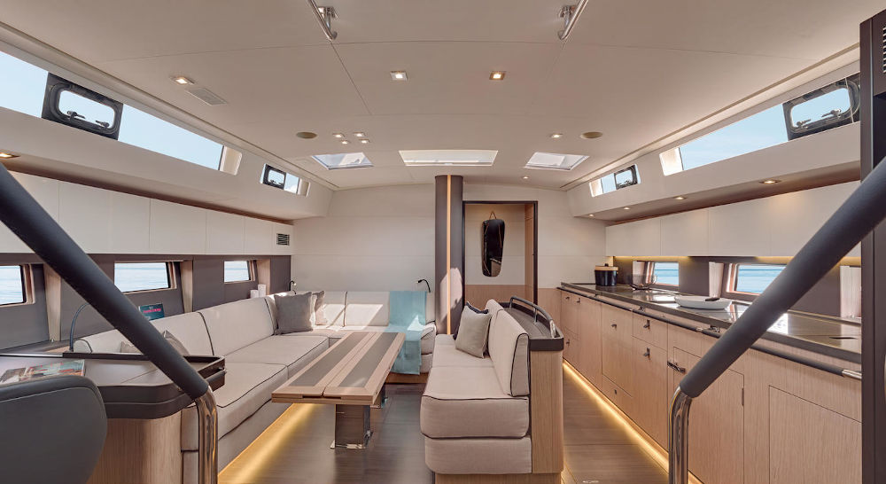 OCEANIS YACHT 62 interior 5
